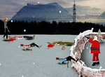 Shooting-spiel-santa-kills-zombies