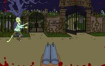 Shooting-game-with-zombies-in-springfield