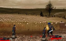 Shooting-game-with-zombies-in-the-fields